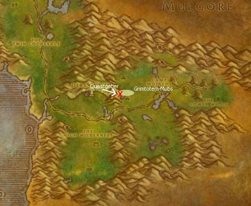 Grimmlingflitzer-Quest: Feralas