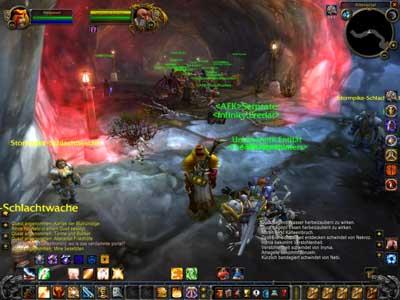 Battleground, Alteractal, wartende Spieler